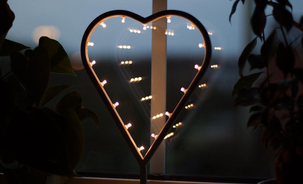 LED-hjärta